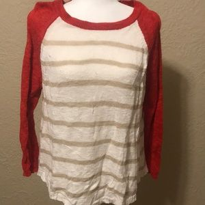 The Limited striped sweater